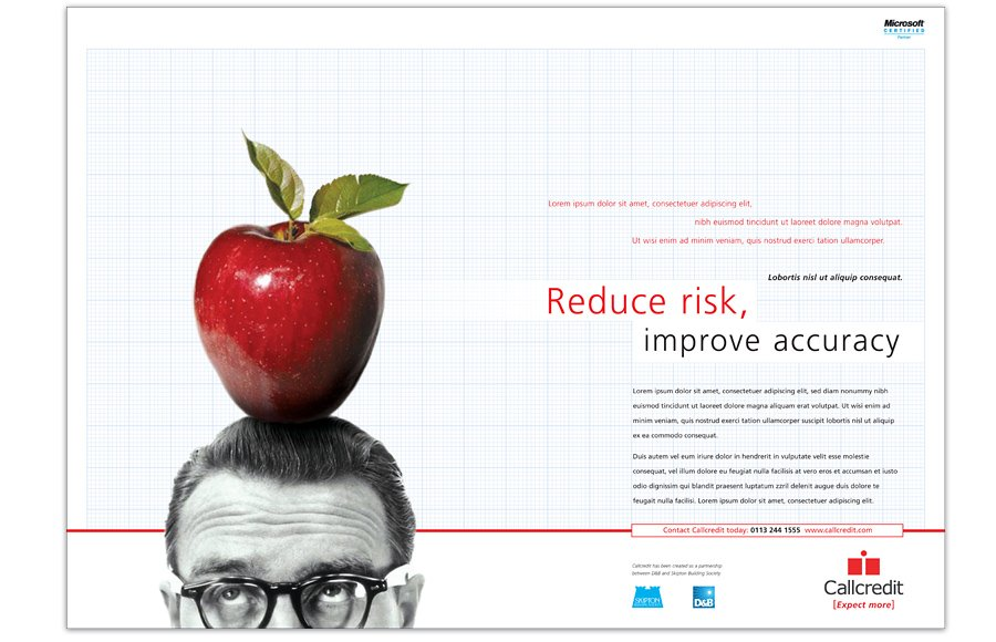 Call Credit Advertising Campaign attract reduce risk accuracy