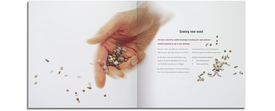 Equifax brochure sowing the seeds spread