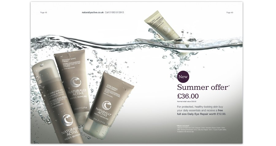 Liz Earle Daily Essentials Offers Retouching water splash