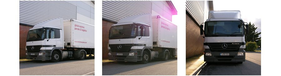 Steve Porter Transport Group fleet imagery retouching photoshop
