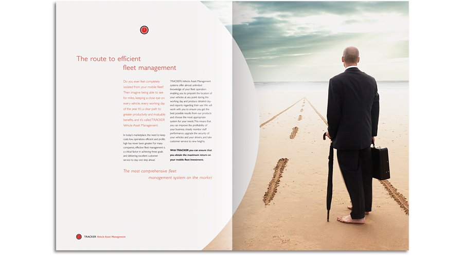 Tracker Vehicle Asset Management brochure the route to efficient