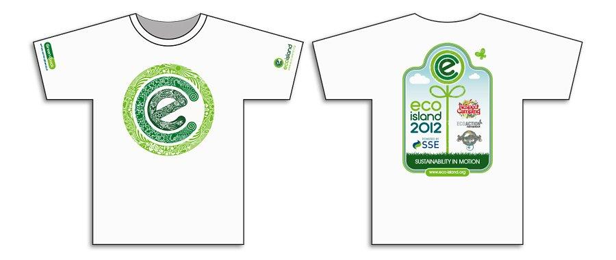 Ecoisland IOW Festival T-shirt design