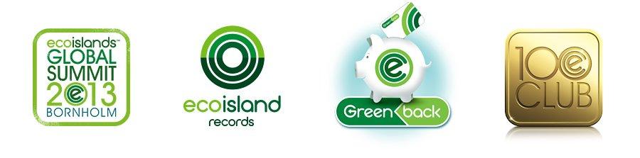 Ecoisland product logos