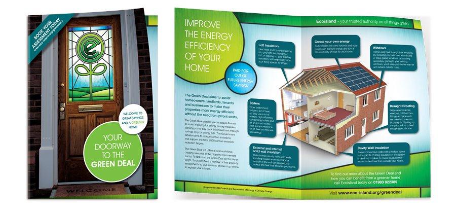 Ecoisland Green Deal leaflet