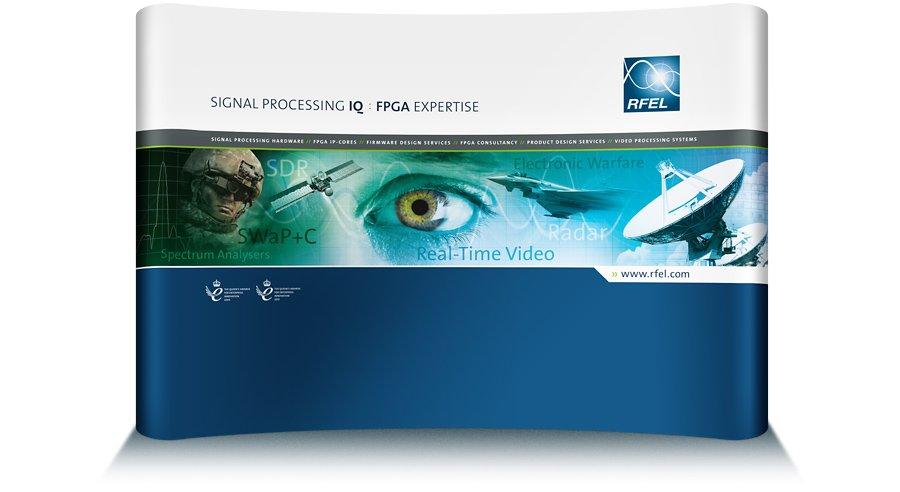 Corporate Exhibition display graphics