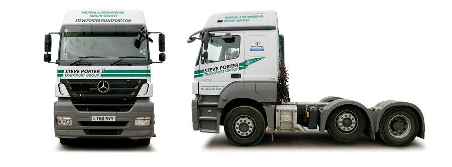 Steve Porter transport livery design