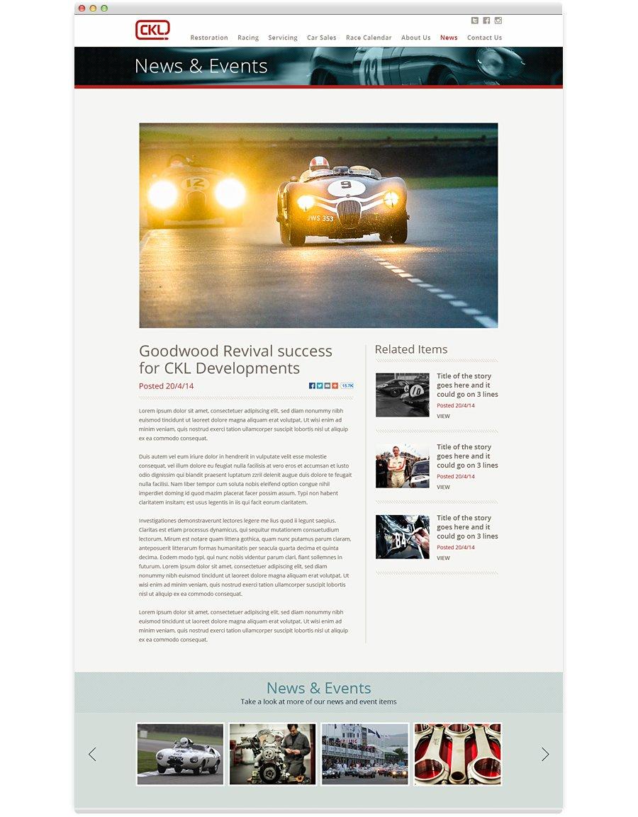 CKL Developments News Page