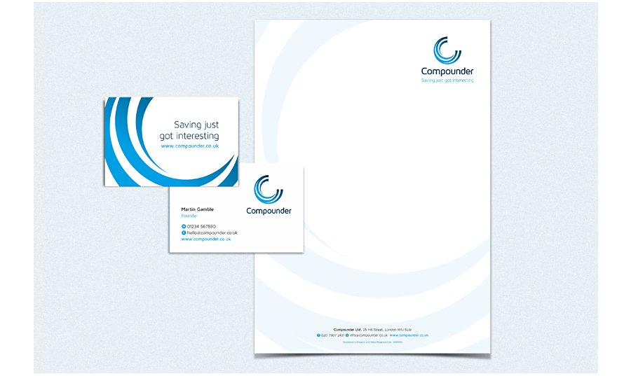 Compounder Stationery Design